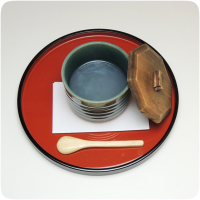 熊野本宮大社参道脇にある甘味処・お食事処「茶房珍重庵 本宮店」メニュー写真 くず湯